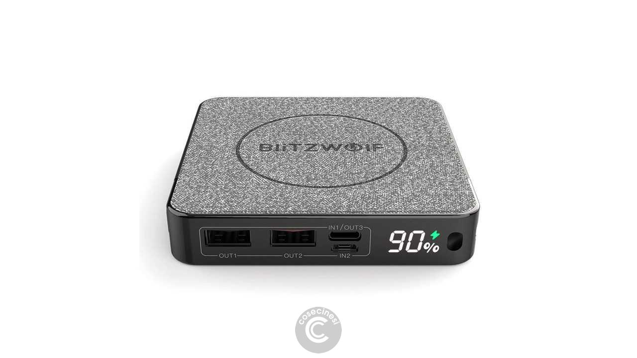 Codice sconto coupon  BlitzWolf BW-P13 LED Display 10000mAh Power Bank