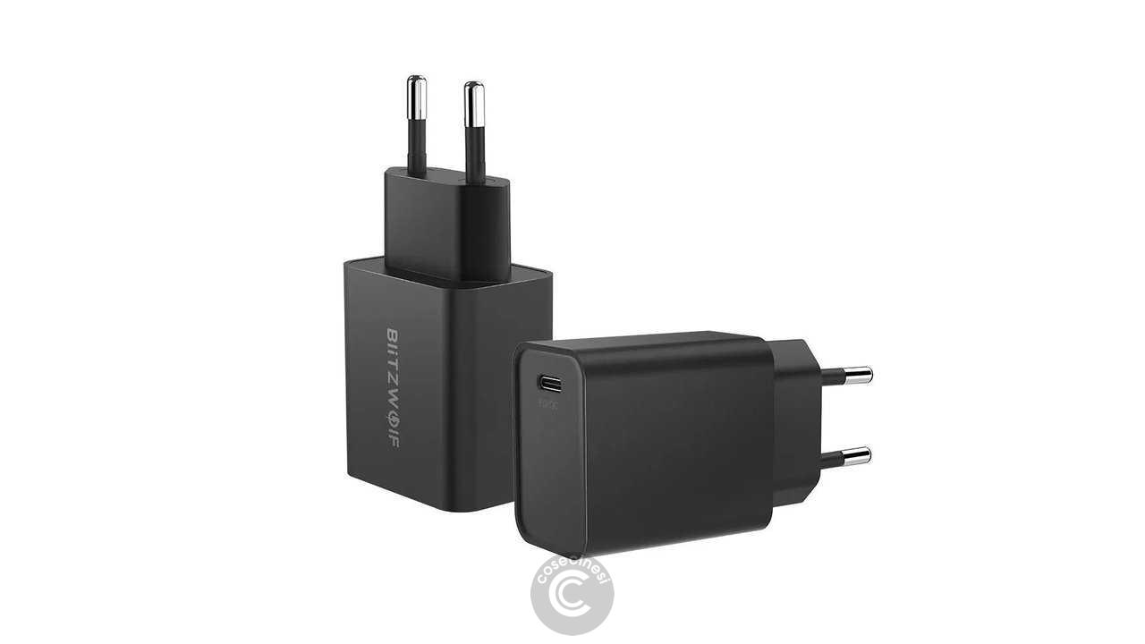 Codice sconto coupon  BlitzWolf BW-S12 27W QC4+ PD Type-C USB Charger