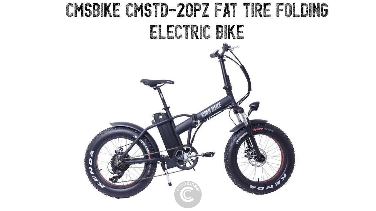 Codice sconto coupon  CMSBIKE CMSTD-20PZ Folding Electric Bicycle
