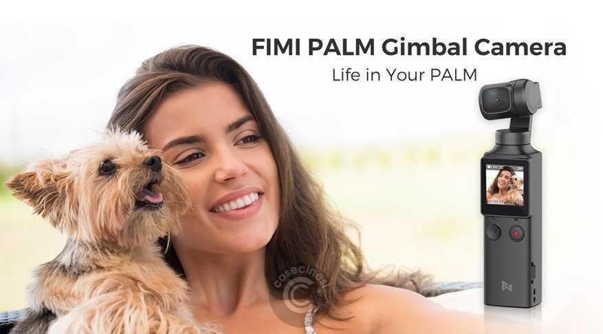 Codice sconto coupon  Xiaomi FIMI PALM Gimbal Camera