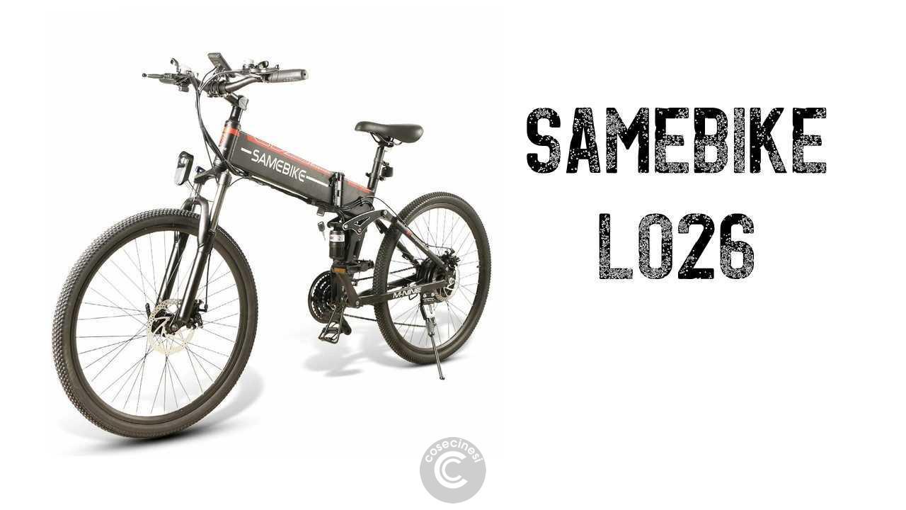 Codice sconto coupon  Samebike LO26 Moped Electric Bike