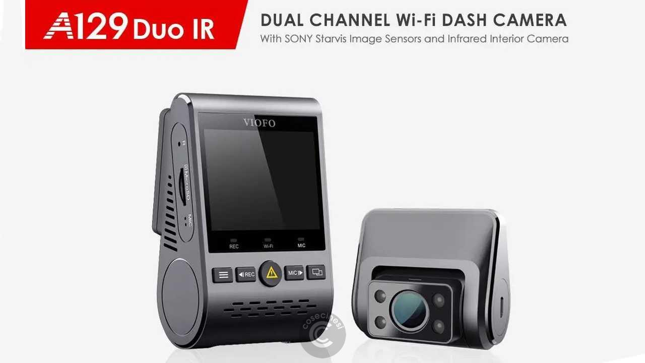 Codice sconto coupon  VIOFO A129 IR Duo Car DVR Camera