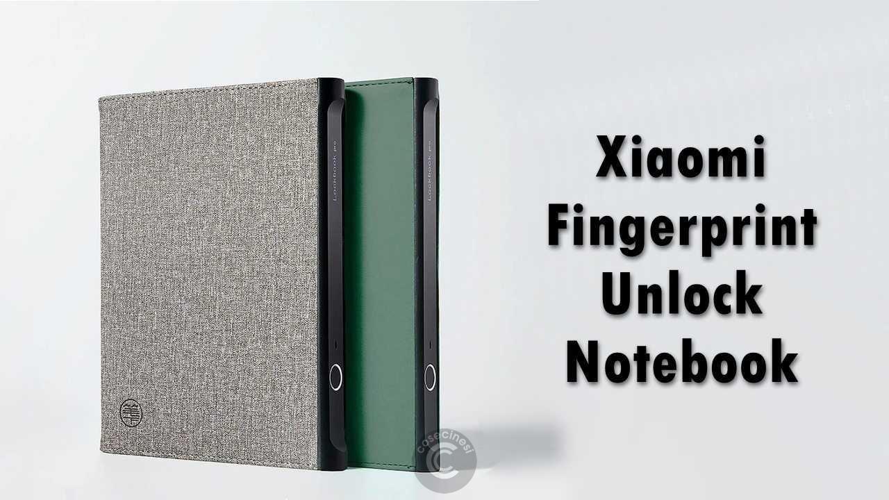 Codice sconto coupon  Xiaomi Fingerprint Unlock Notebook