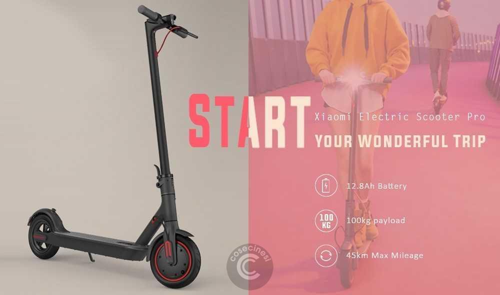 Codice sconto coupon  Xiaomi Electric Scooter Pro