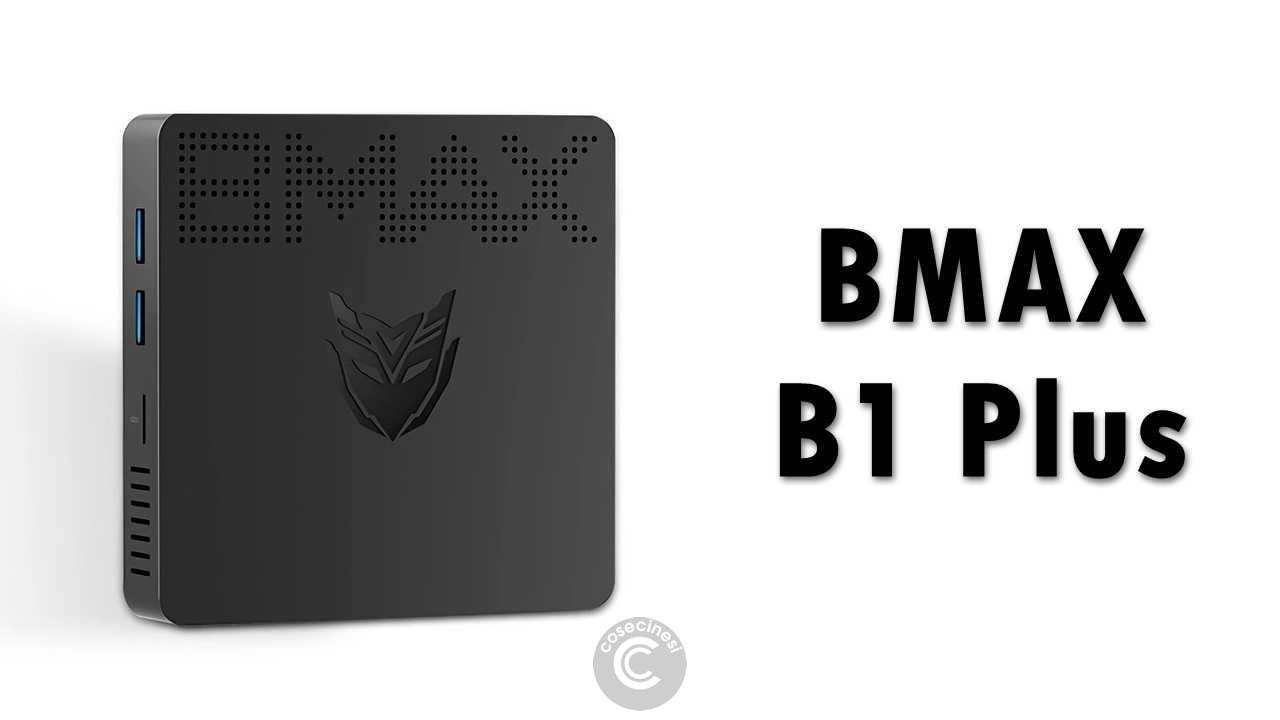 Codice sconto coupon BMAX B1 Plus Mini PC [N3350 6+64GB]
