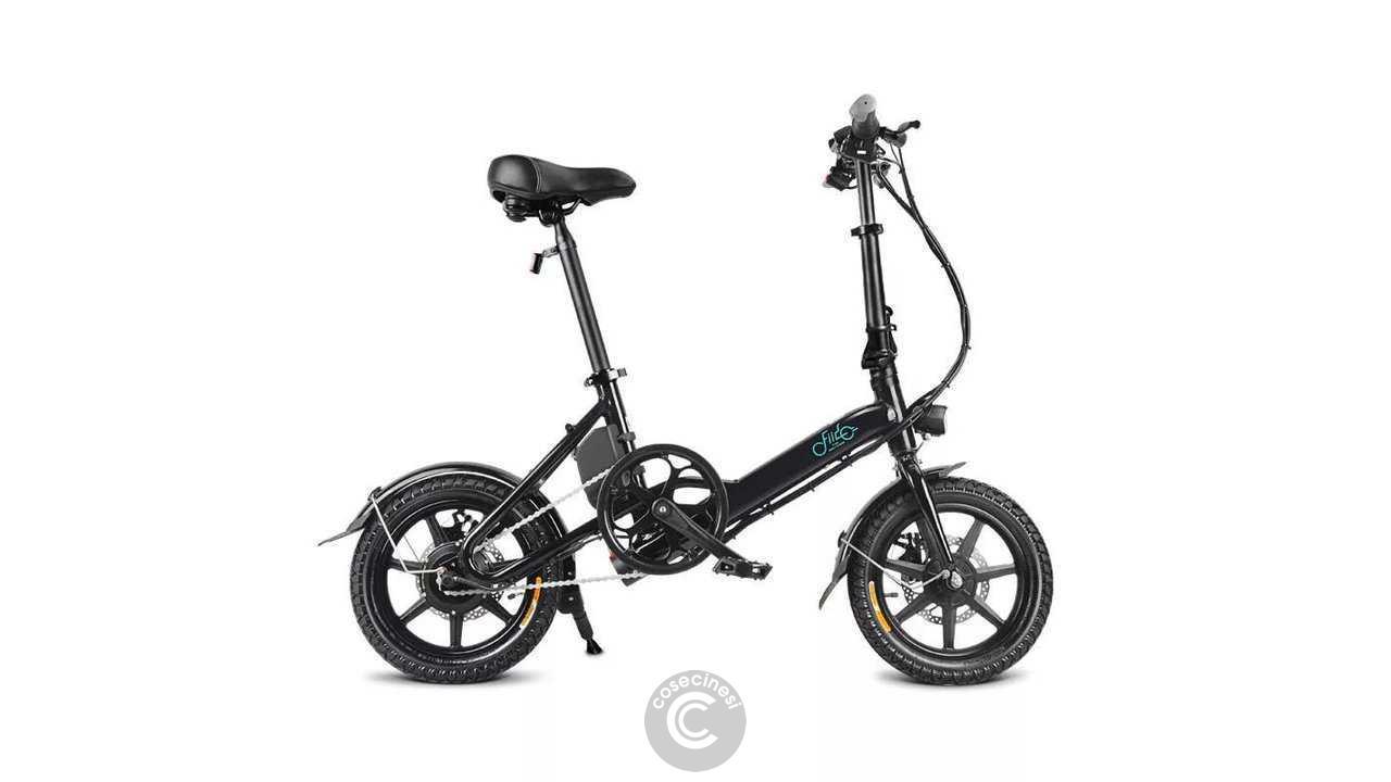 Codice sconto coupon FIIDO D3 Folding Moped Bicycle [7.8mAh] [UK Warehouse]