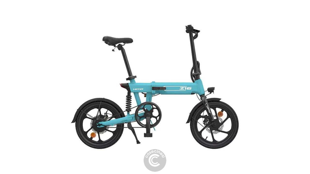 Codice sconto coupon Xiaomi HIMO Z16 Folding Electric Bike [UK Warehouse]