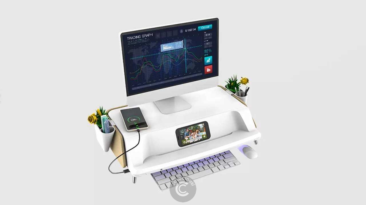 Codice sconto coupon Xiaomi Locket S6pro Monitor Laptop Stand UV Antivirus Storage Box