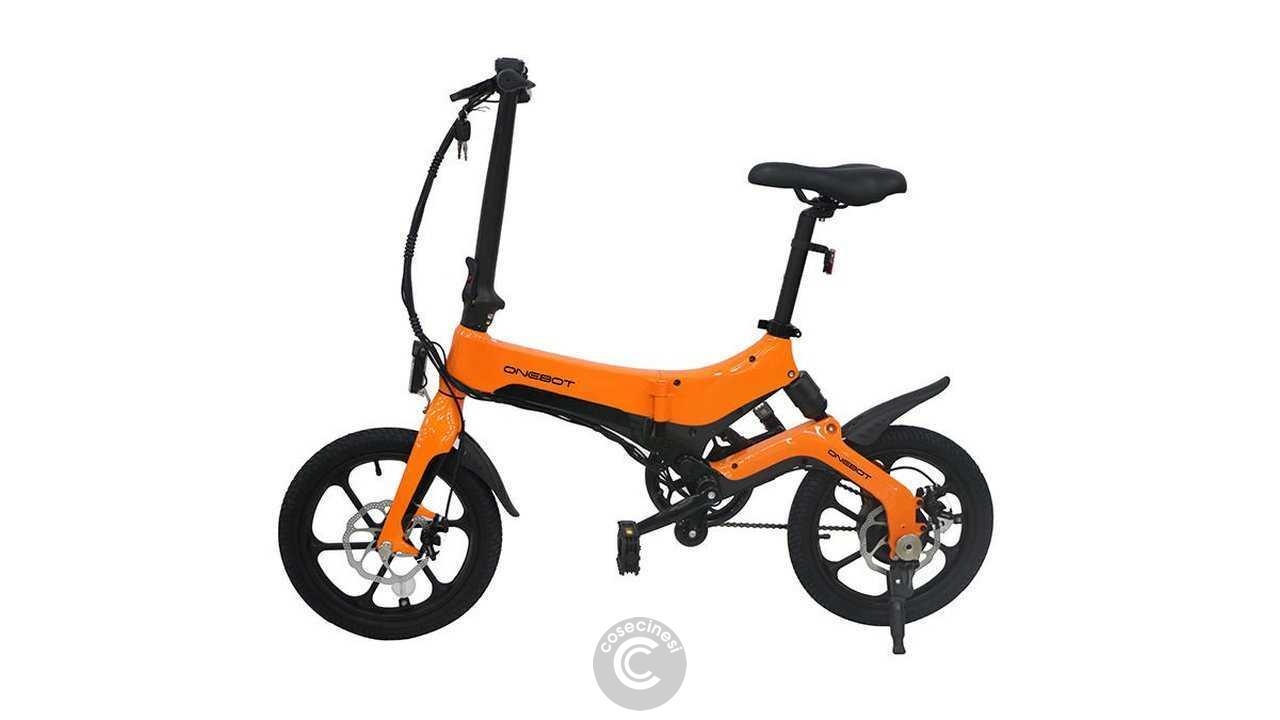 Codice sconto coupon ONEBOT S6 Folding Moped Bicycle [UK Warehouse]
