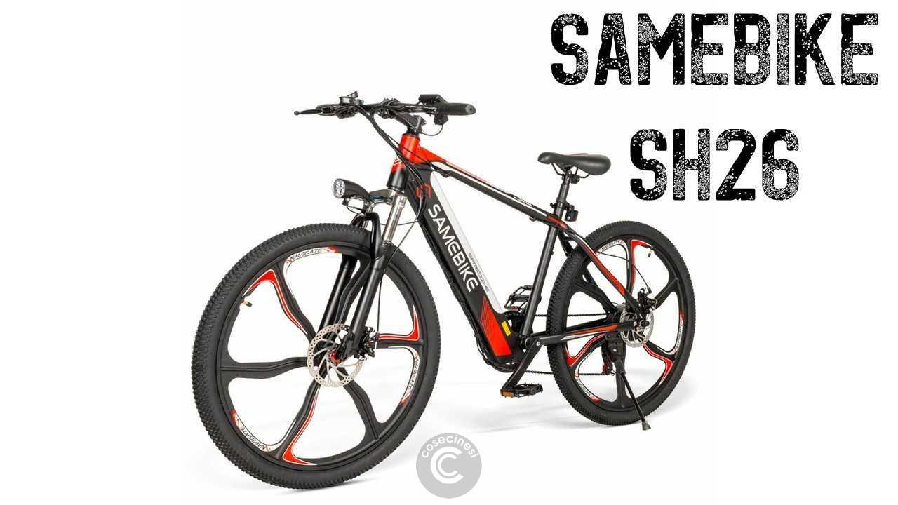 Codice sconto coupon SAMEBIKE SH26 Electric Mountain Bike [UK Warehouse]