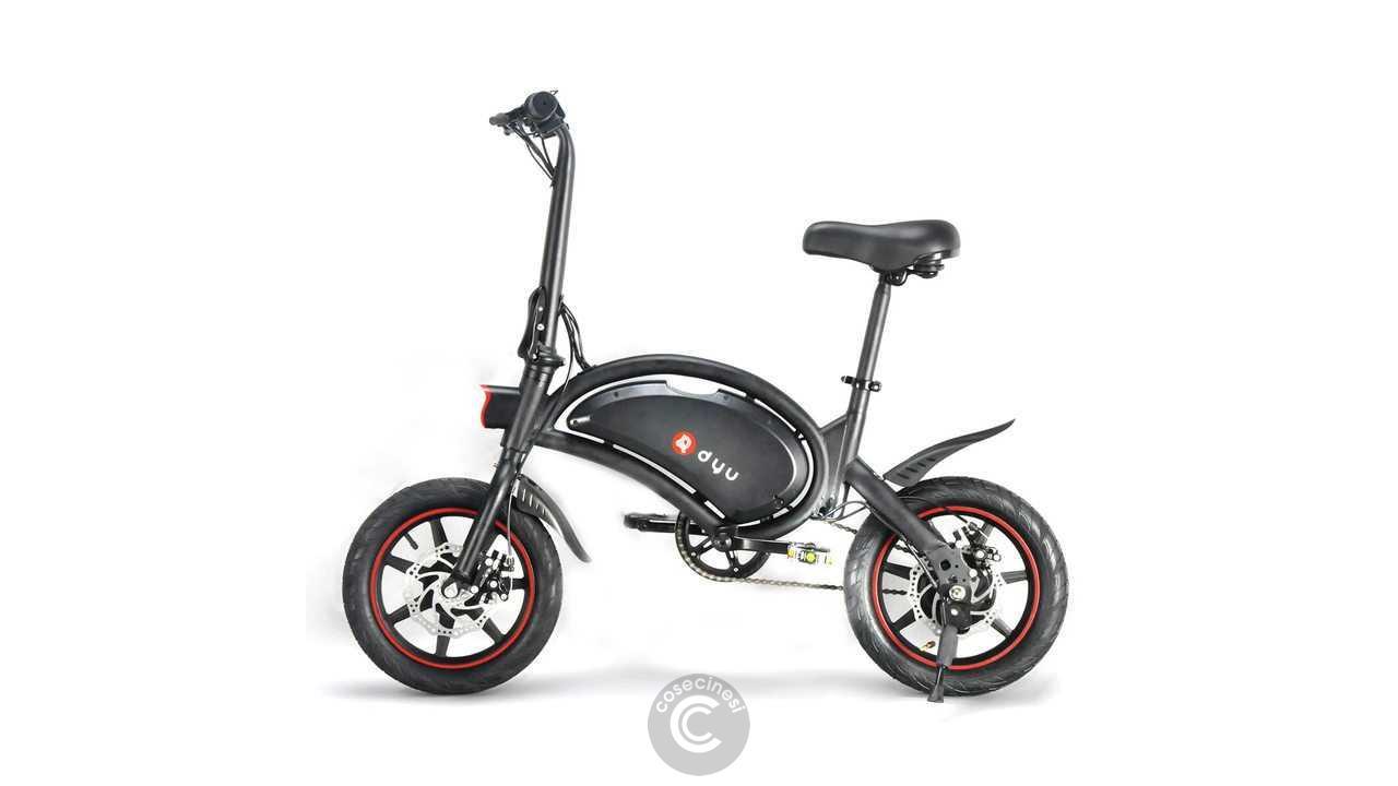Codice sconto coupon DYU D3F Folding Moped Electric Bike [6Ah] [UK Warehouse]