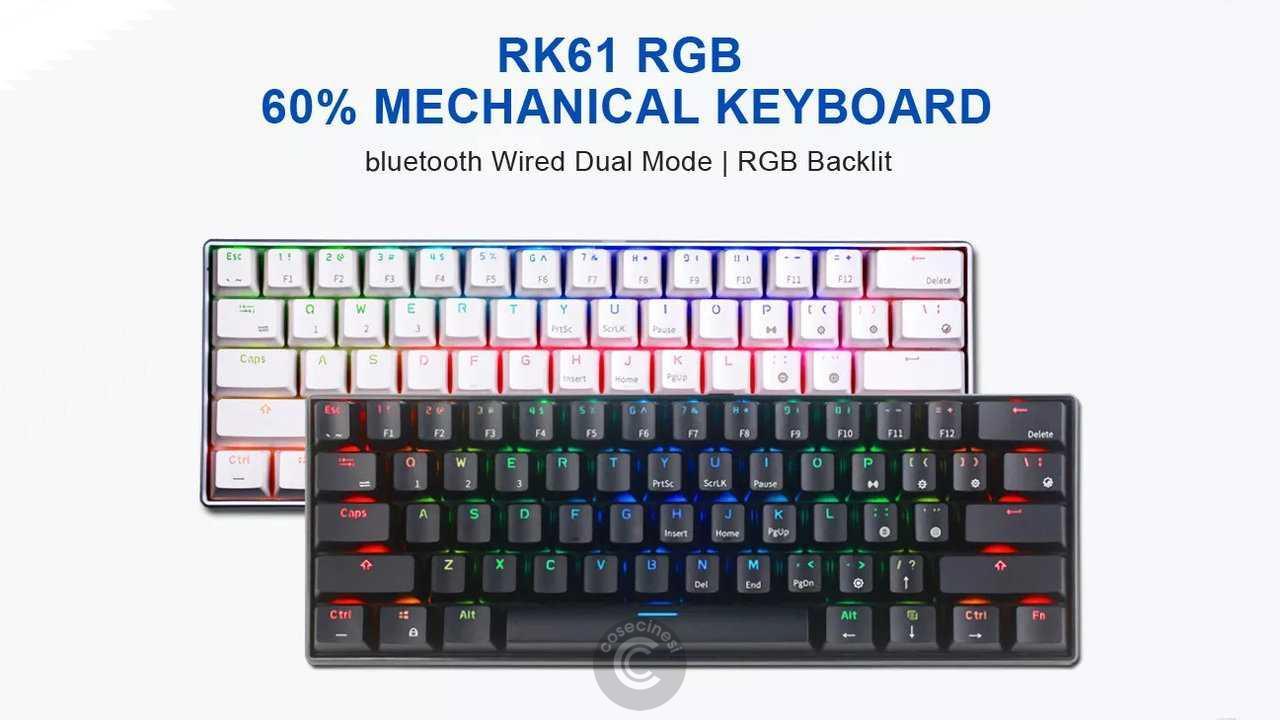 Codice sconto coupon Royal Kludge RK61 60% Mechanical Gaming Keyboard Banggood Coupon Code [Spain Warehouse]