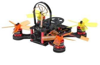 FX100 100mm Micro FPV Racing Drone Camera Recensione