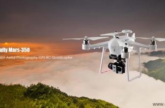 IdeaFly Mars 350 Drone Quadricottero con GPS e Gimbal