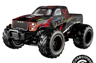Flytec 8897 1 : 12 2.4GHz Electric Four-wheel Drive High-speed Model Big Foot Off-road Remote Control Car