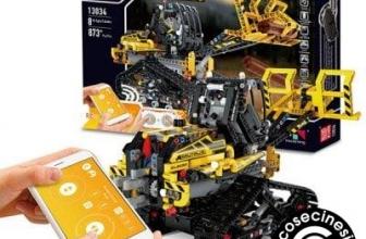 Mould King Intelligent Programming APP Control Engineering Vehicle