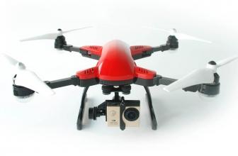 Simtoo Dragonfly Drone pieghevole con GPS