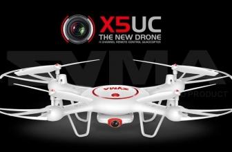 Il nuovo Syma X5UC con HD Camera e barometro